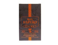 Am Espero Último 42% rum 1x700 ml darčekové balenie