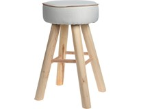 Stolička biela 55,5 cm 1ks
