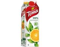 Toma džús pomaranč 100% 12x1 l