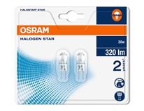 Žiarovka HAL Star 20W G4 Osram 2ks
