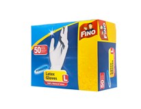 Rukavice jednorázové L Fino 50ks