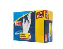 Rukavice jednorázové M Fino 50ks