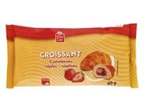 Fine Life Croissant s jahodovou náplňou 1x60 g