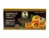 Franz Josef Sardelové očká v oleji s kaparami 1x45 g