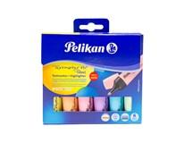 Zvýrazňovače pastelové 490 Pelikan 6ks