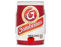 Gambrinus pivo 10% 1x5 l súdok