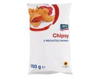 ARO Chipsy paprikové 1x100 g