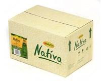 Rauch Nativa zelený čaj citrón 24x250 ml SKLO