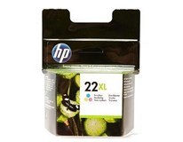 Cartridge N22 XL tricolour HP 1ks