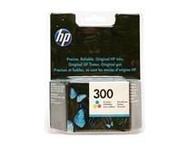 Cartridge N300 tricolour HP 1ks