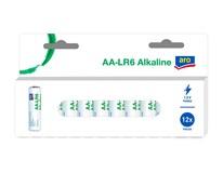 Batérie alkalické LR6 AA ARO 12 ks