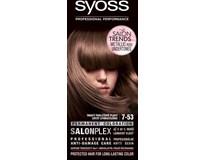 Syoss Color 7-53 tmavý perleťový blond farba na vlasy 1x1 ks
