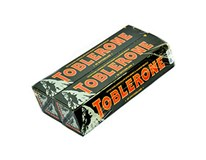 Toblerone čokoláda horká 4x100 g