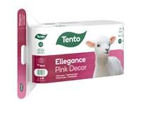 Tento Ellegance Pink Decor toaletný papier 3-vrstvový 1x16 ks