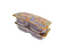 Milko Tvaroháček kakao chlad. 4x130 g