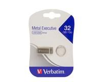 Verbatim USB Metal 32GB silver 1ks