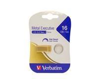 Verbatim USB Metal 16GB gold 1ks