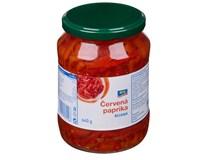 ARO Paprika červená rezy 4x640 g