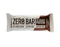 Biotech Zero Bar dvojitá čokoláda 1x50 g
