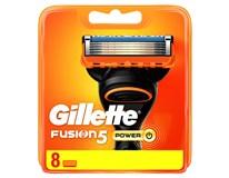 Gillette Fusion Power náhradné hlavice 1x8 ks