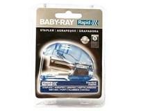 Zošívačka mini baby ray modrá Rapid 1ks