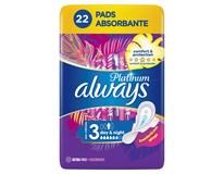 Always Platinum night dámske vložky 1x22 ks