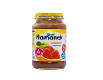 Hamé Hamánek Detská výživa jahoda a jablko 1x190 g