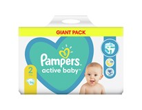 Pampers Active Baby S2 giant pack detské plienky 1x96 ks