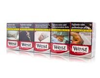 West Red king size box 20ks KC3,90 10krab. kolok H tvrdé bal. VO cena