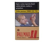 Pall Mall A.T. Red king size box 20ks KC4,00 10krab. kolok H tvrdé bal. VO cena