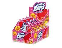 Chupa Chups Crazy dips jahoda 24x16 g