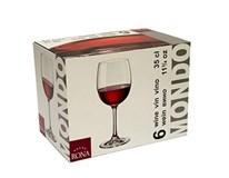 Pohár na víno Mondo 350ml Rona 6ks