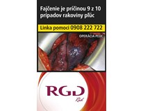 RGD Red king size box 20ks KC3,90 10krab. kolok H tvrdé bal. VO cena