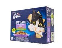 Felix Fantastic želé krmivo pre mačky 12x85 g