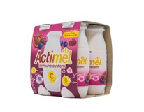 Danone Actimel Jogurtové mlieko granátové jablko a vitamín C chlad. 4x100 g