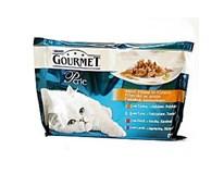 Gourmet perle mini filet wet cat kapsičky pre mačky 4x85 g
