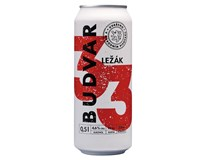 Budvar 33 12° pivo 24x500 ml PLECH
