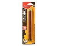 Ceruzka lakovaná HB Maped 2+1ks
