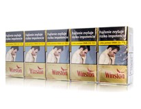 Winston Gold Red 100 dlhé box 20ks KC3,90 10krab. kolok H tvrdé bal. VO cena