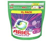 Ariel All in 1 Color&Style gélové kapsuly 1x46 ks