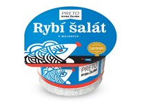 Ryba Žilina Preto Rybí šalát vmajonéze chlad. 6x140 g