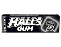 Halls Gum Extra Strong žuvačky 15x14 g