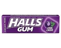 Halls Gum Cool Cassis žuvačky 15x14 g