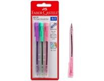 Pero guličkové Assort RX 0,5mm Faber-Castell 3ks