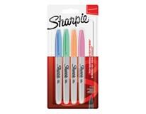 Popisovače permanentné Pastel Fine Sharpie 4ks