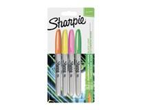 Popisovače permanentné Neon Fine Sharpie 4ks