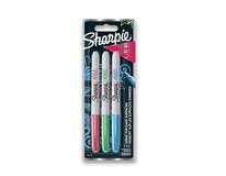 Popisovače permanentné Sharpie Metallic Fine 3ks