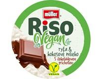 Müller Riso Vegan mix (čokoláda,vanilka) chlad. 1x160 g