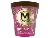 Algida Magnum Double Ruby berries&cream zmrzlina mraz. 1x440 ml
