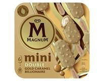 Algida Magnum Mini Double Gold caramel billionaire nanuk mraz. 6x55 ml
